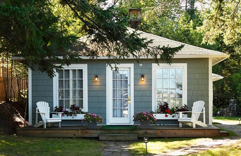 Cottage exterior at GO-Cottage