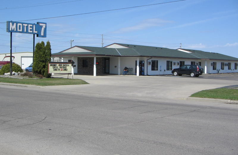 Exterior view of Motel 7.