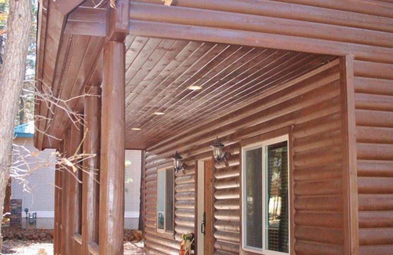 Front Porch at Tall Pines Getaway