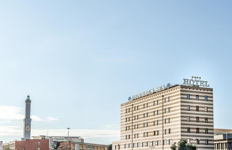 Exterior view of Columbus Sea Hotel.