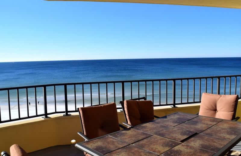 Rental balcony at Alicia J. Hollis, Realtor.