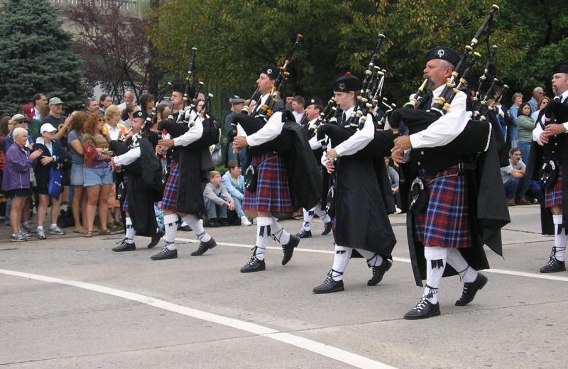 Celtic festival at Classic Victorian B & B.