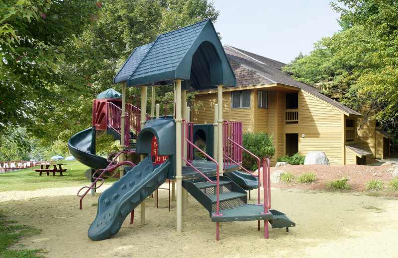 Playground at Summit Resort.