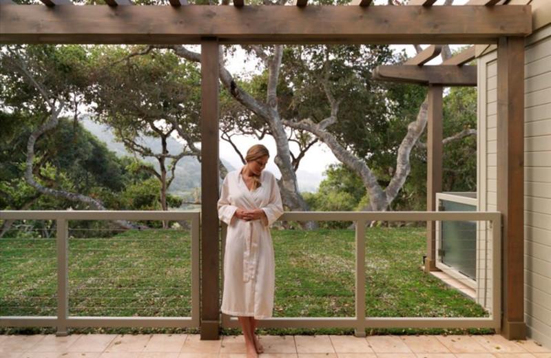 Spa Patio at Carmel Valley Ranch