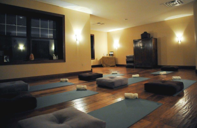 Yoga at The Osthoff Resort.