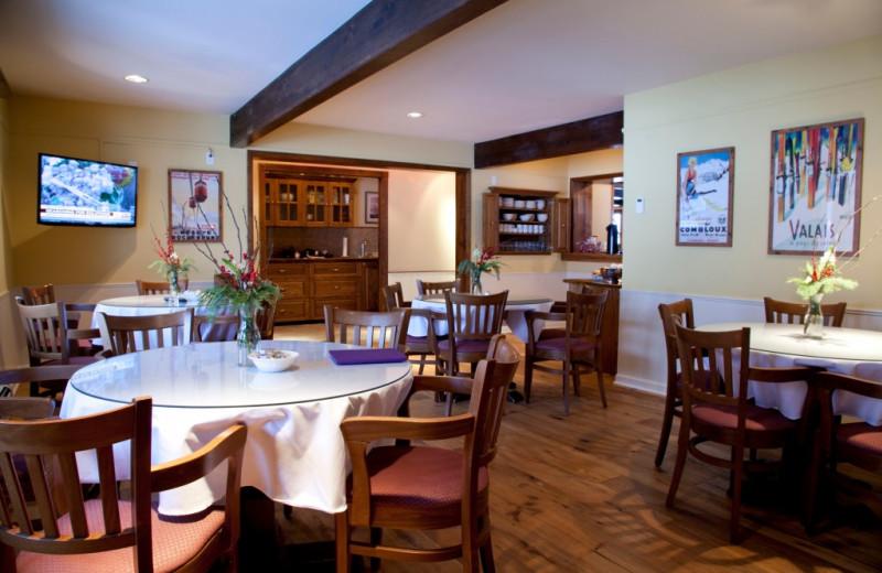 Breakfast room at The Nordic Inn.