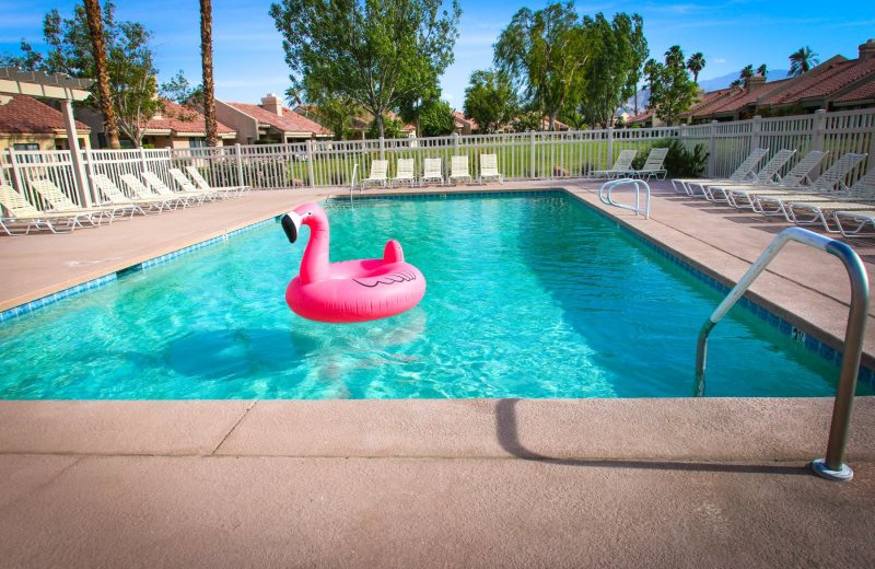 Rental pool at Country Club and Resort Rentals.