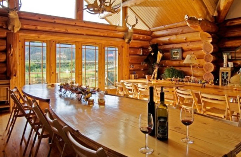Dining Area at Icicle Village Resort