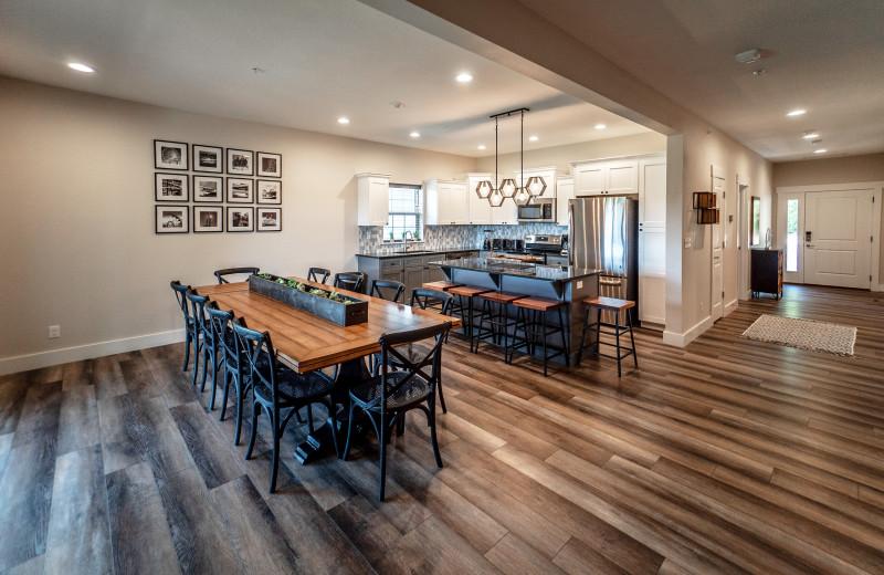Lodge kitchen at Thousand Hills Golf Resort.