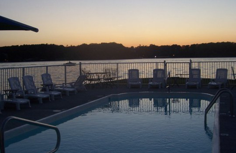 Pool at Robin's Resort