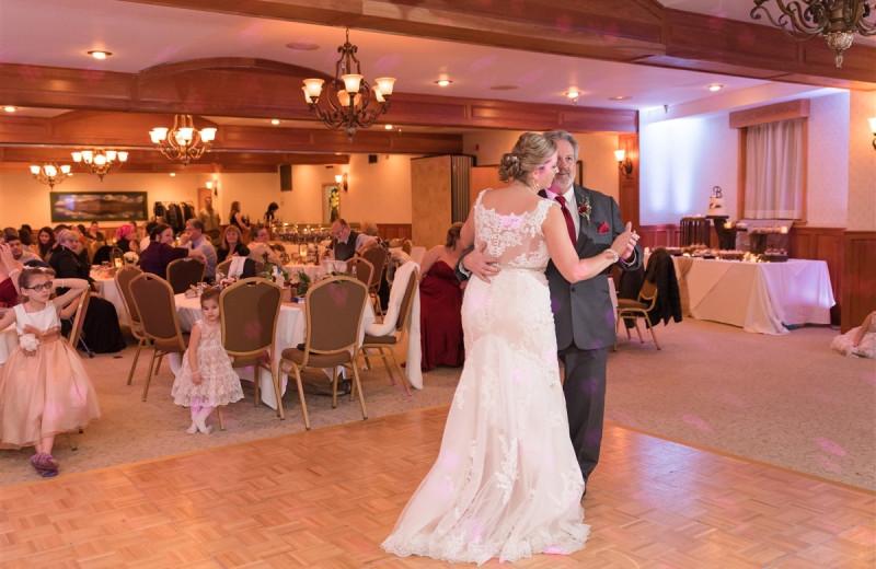 Wedding reception at Golden Arrow Lakeside Resort.