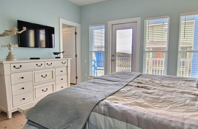 Rental bedroom at Port A Escapes.