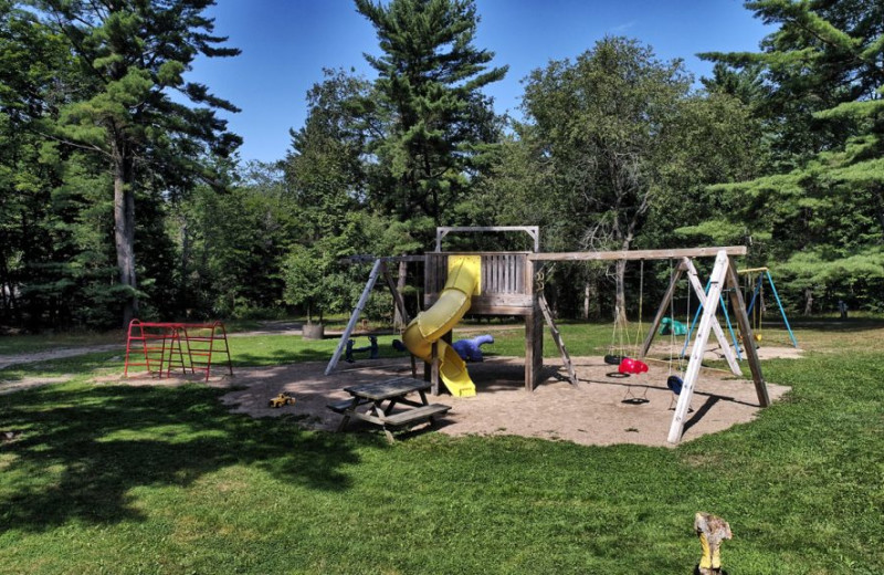 Playground at Great Blue Resorts- Bonnie Lake Resort.