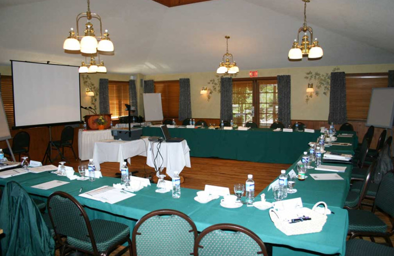 Conference room at Severn Lodge.