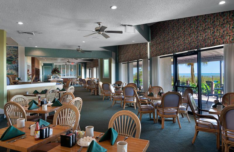 Dining room at Ocean Reef Resort.