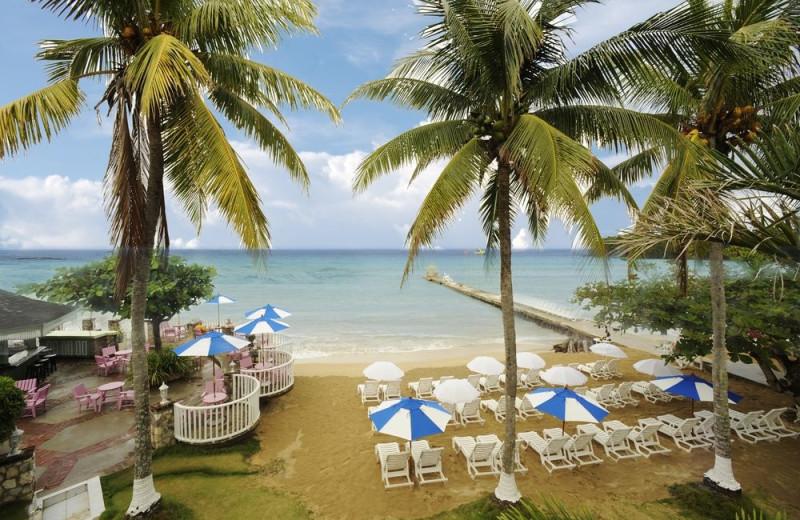 Beach at Shaw Park Beach Hotel & Spa.