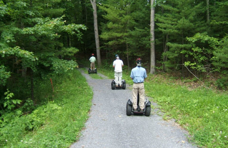 Segway tours at The Homestead.