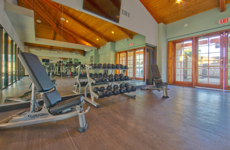 Fitness room at Holiday Inn Club Vacations Scottsdale Resort.