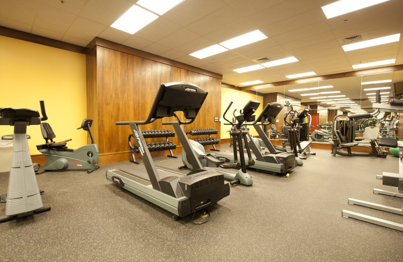 Fitness room at Bear Creek Mountain Resort.