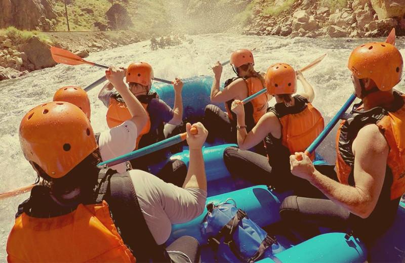 Rafting trip at Royal Gorge Cabins.