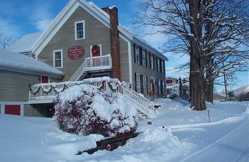 Holiday season at The Inn at Willow Pond.