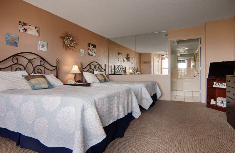 Guest room at Fountain Beach Resort.