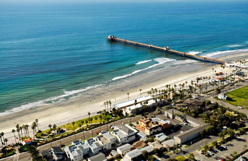 Resort Aerial at the Southern California Beach Club