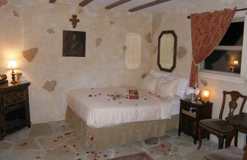 Guest room at Elm Creek Manor.