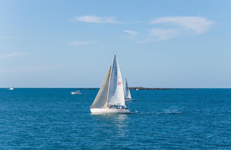 Sailing at Aqua Breeze Inn.