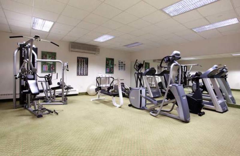 Fitness Center at Holiday Inn Apex Vail