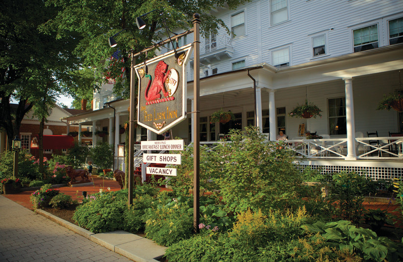 Exterior view of Red Lion Inn.