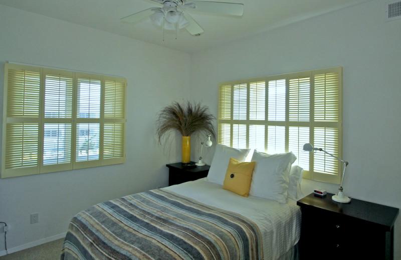 Guest bedroom at Hermitage.