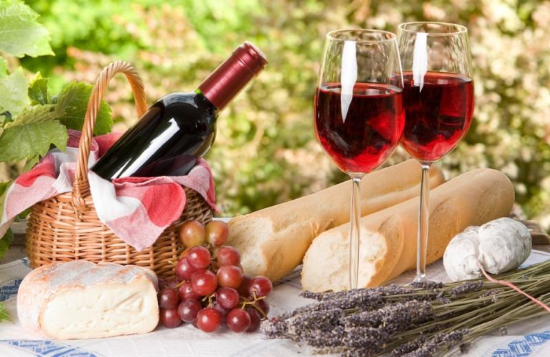 Fine wines at Sonoma Coast Villa & Spa Resort.