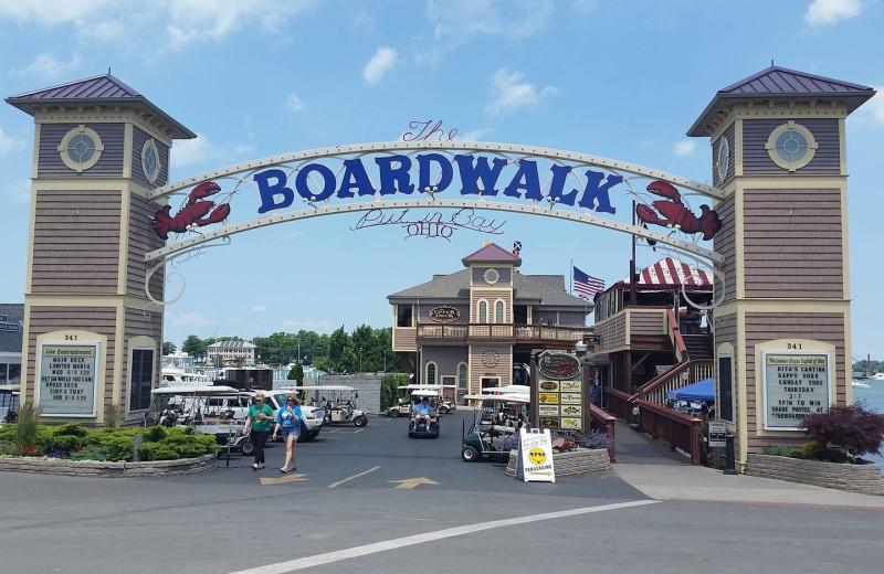 Boardwalk at Island Club Rentals.