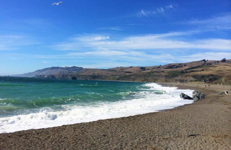 Beach near Applewood Inn, Restaurant and Spa.