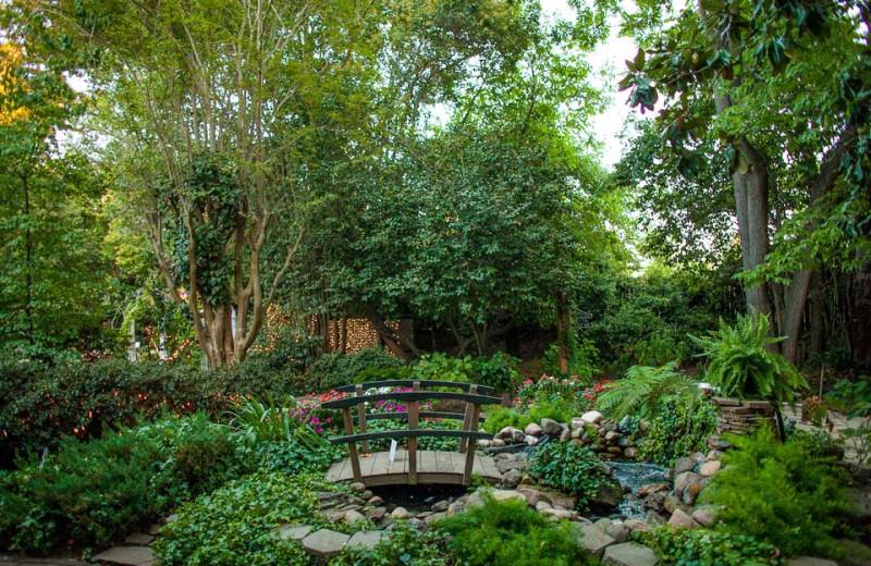 Garden at Heirloom Inn.