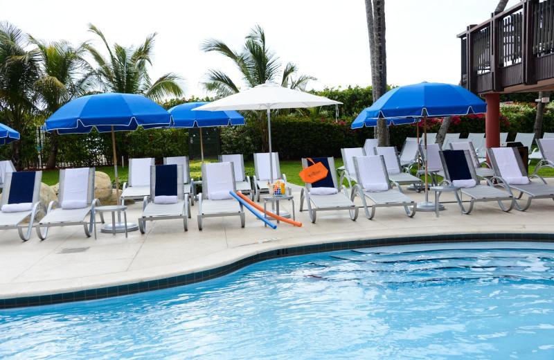 Outdoor pool at The Alexander All Suite Oceanfront Resort.