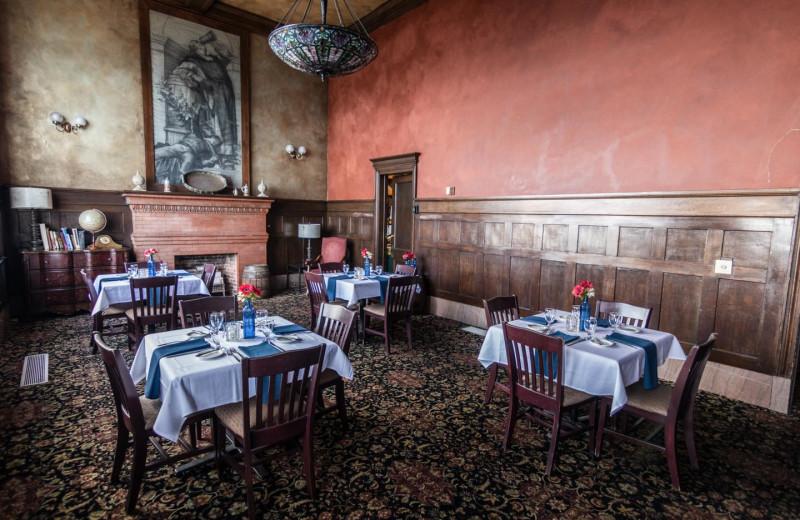 Dining at Fitger's Inn.