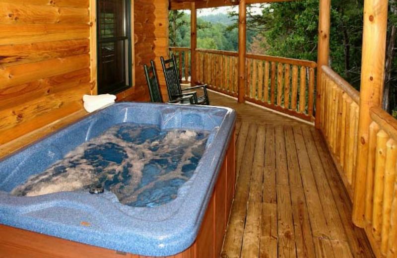 Hot Tub at Hidden Mountain Resorts