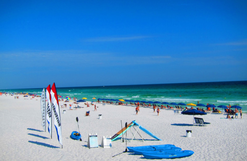 The beach at Seascape Resort.