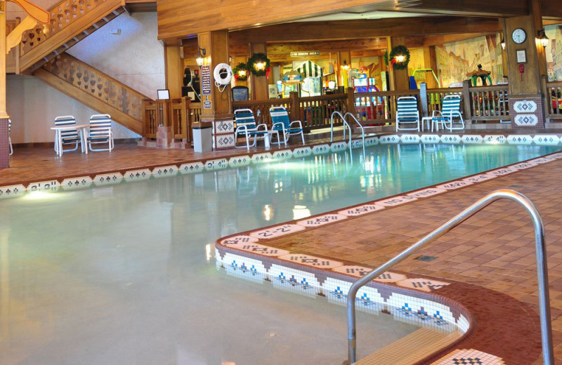 Pool at Bavarian Inn of Frankenmuth.