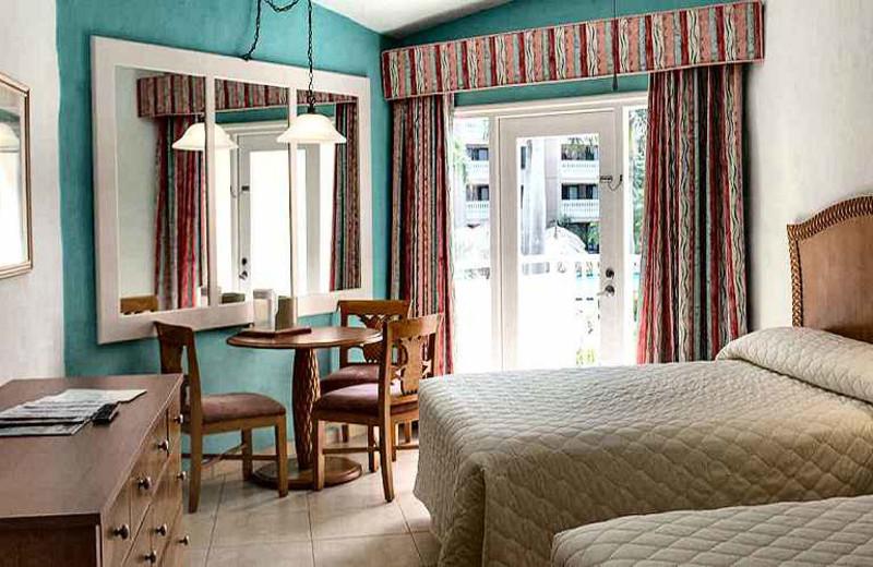 Guest room at Aruba Beach Club.