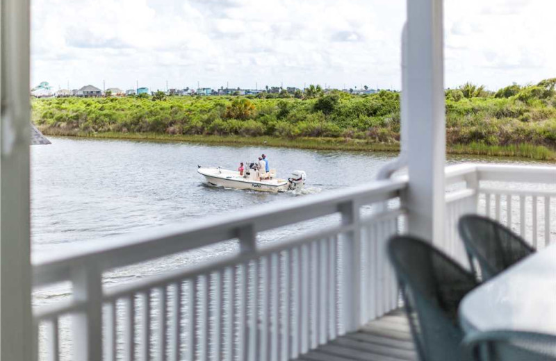 Fishing at Gary Greene Vacation Rentals.