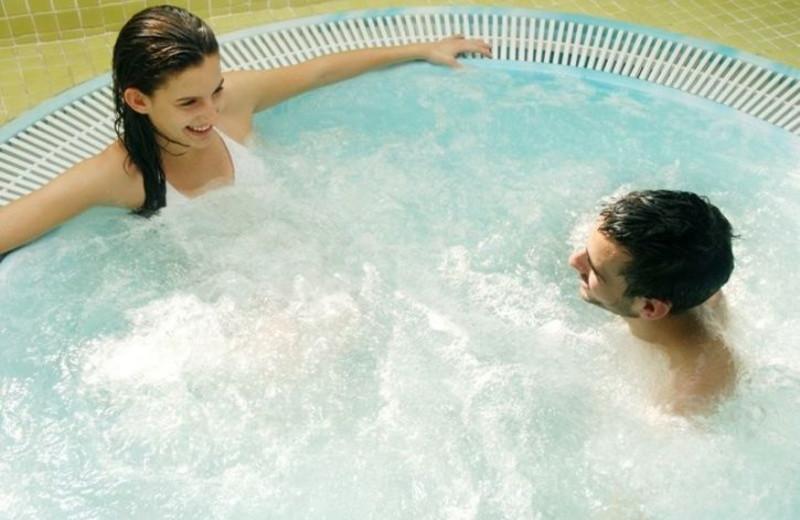Hot Tub at Harborside Hotel