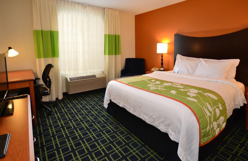 Guest room at Fairfield Inn Jefferson City.