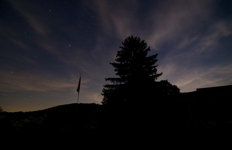 Starry sky at Capon Springs.