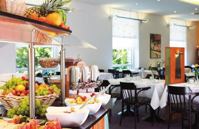 Dining at Inter City Hotel Rostock.