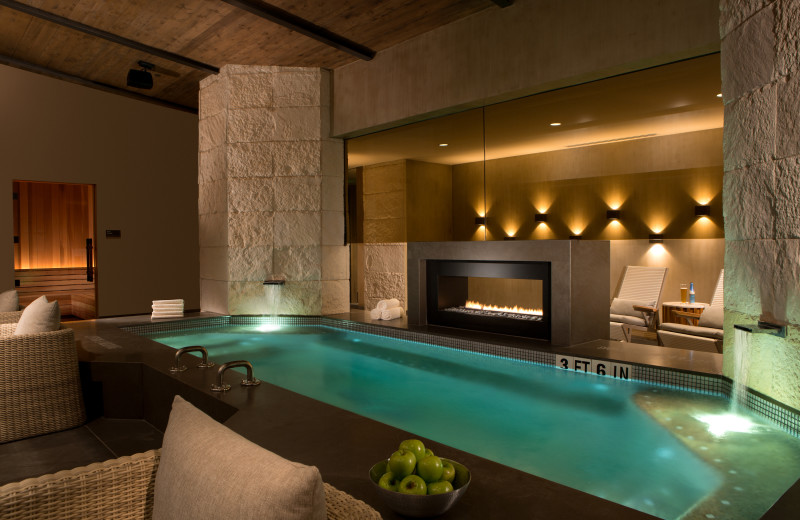 Spa pool at La Cantera Resort & Spa.