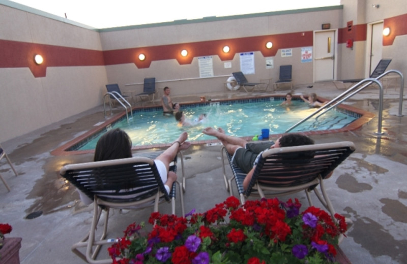 Indoor pool at The Inn on Lake Superior.