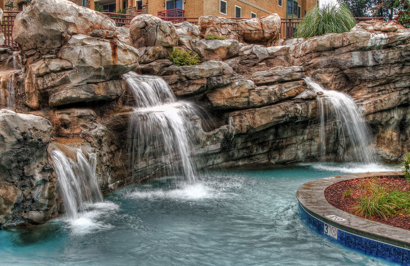 Outdoor pool at RiverStone Resort & Spa.